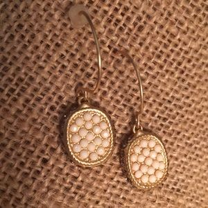 Spartina pave earrings